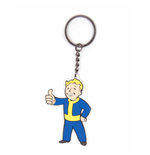 Fallout 4 Rubber Keychain Vault Boy Approves
