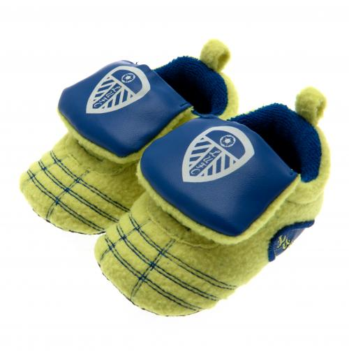 Leeds United F.C. Neon Boot Crib 9/12