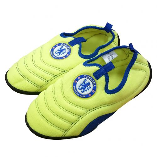 Chelsea F.C. Neon Boot Slipper 5/6