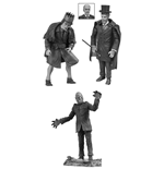 Universal Monsters Legacy Series Black & White Action Figure Box Set #4 18 cm
