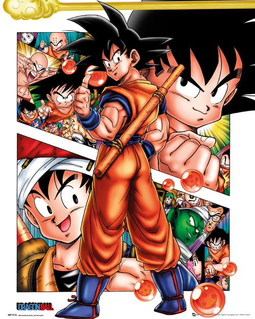 Dragonball Collage Mini Poster