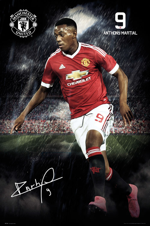 Manchester United Martial 15/16 Maxi Poster