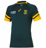 South Africa Springboks 2015 RWC Home Rugby Shirt (IRB Logo)