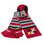 Mickey Mouse Scarf and Cap Set 179867
