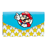 NINTENDO Super Mario Bros. Mario & Stars Envelop Wallet, One Size, Multi-Colour