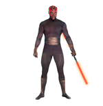 STAR WARS Darth Maul Adult Unisex Zapper Cosplay Costume Digital Morphsuit, Extra Extra Large, Multi-Colour