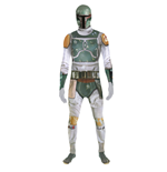 STAR WARS Boba Fett Adult Unisex Zapper Cosplay Costume Digital Morphsuit, Large, Multi-Colour