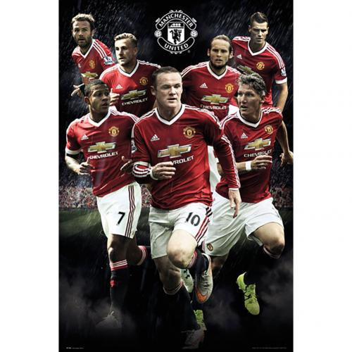 Manchester United F.C. Poster Players 114