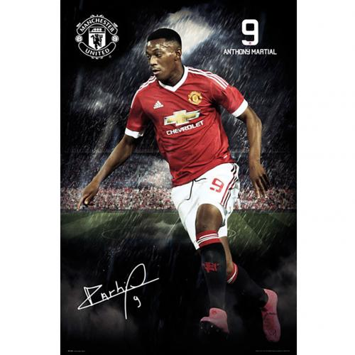 Manchester United F.C. Poster Martial 102