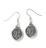 Harry Potter Platform 9 3/4 Earrings (Sterling Silver)