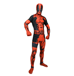 MARVEL COMICS Deadpool Adult Unisex Cosplay Costume Morphsuit, Extra Extra Large, Multi-Colour