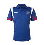 Samoa BLK 2015 Rugby Media Polo Shirt (Blue)