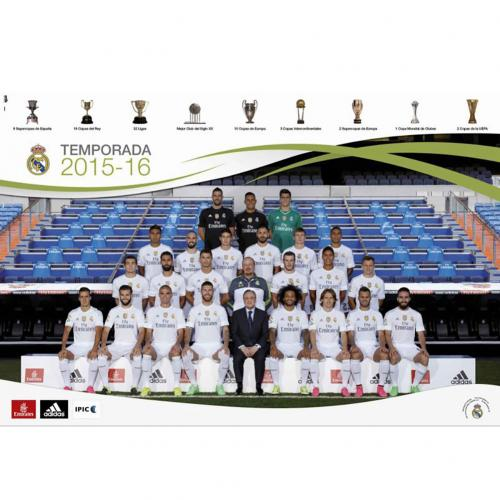 Real Madrid F.C. Poster Squad 66