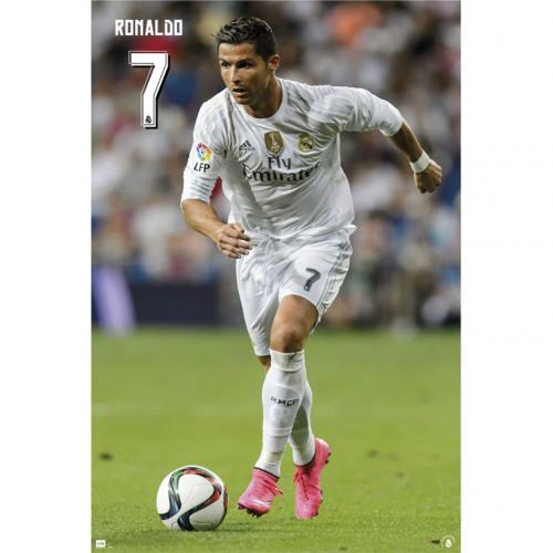 Real Madrid F.C. Poster Ronaldo 18
