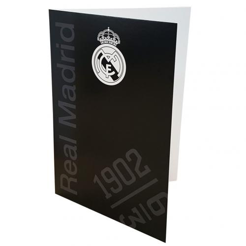 Real Madrid F.C. Greetings Card BK