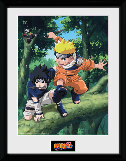 Naruto Trees Framed Collector Print