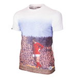 George Best Manchester Pitch T-Shirt (White)