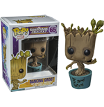 Guardians of the Galaxy POP! Vinyl Bobble-Head I am Dancing Groot 10 cm