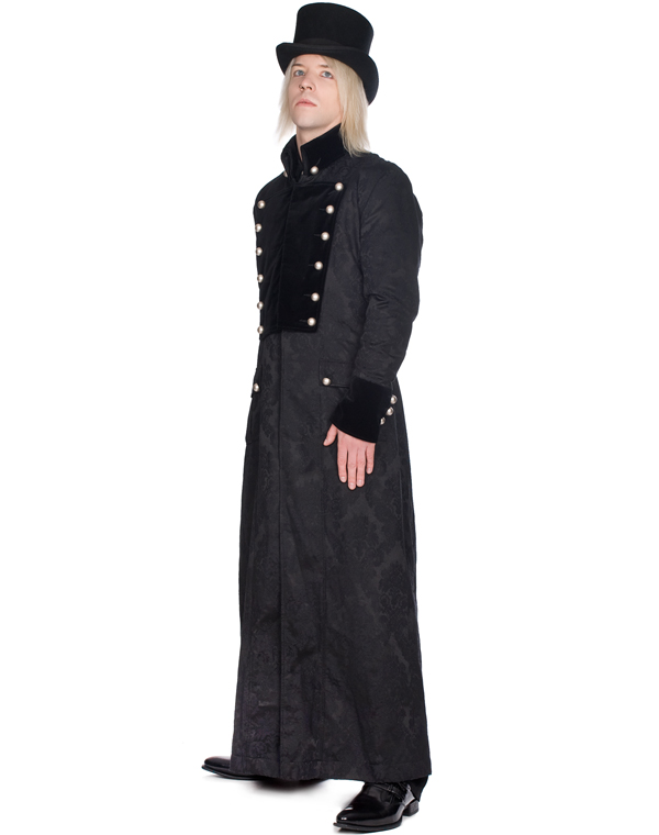 Aderlass Admiral Long Coat Brocade