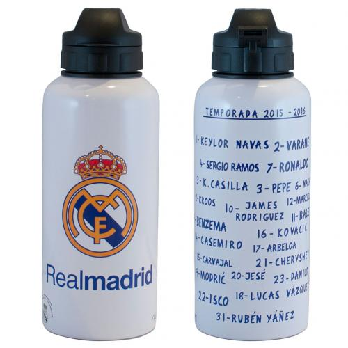 Real Madrid F.C. Aluminium Drinks Bottle SQ