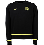 2015-2016 Inter Milan Nike AW77 Authentic LS Crew (Black)