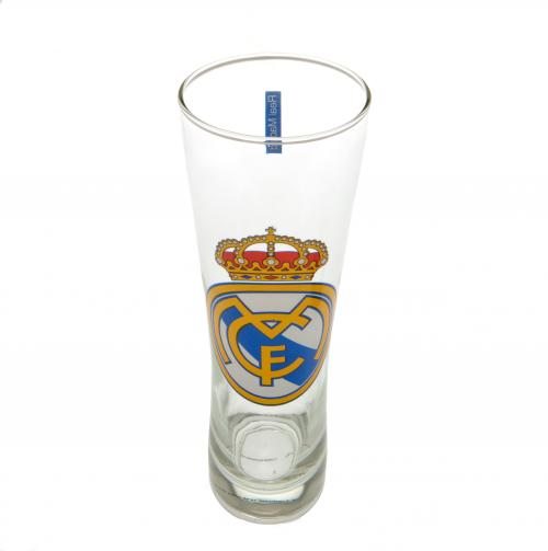 Real Madrid F.C. Tall Beer Glass CC
