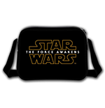 STAR WARS VII The Force Awakens Main Logo Messenger Bag, Black