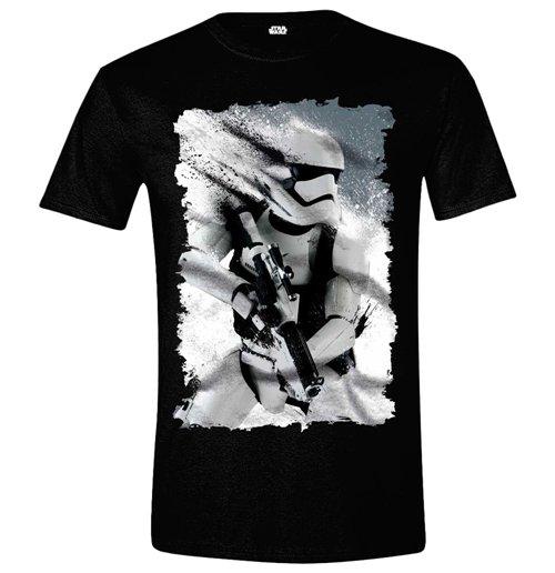 The Force Awakens Official Star Wars Men/'s Black T-Shirt