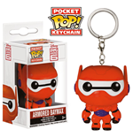 Big Hero 6 Pocket POP! Vinyl Keychain Armored Baymax 4 cm