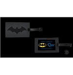 DC Comics Luggage tag Batman Logo SDCC Exclusive