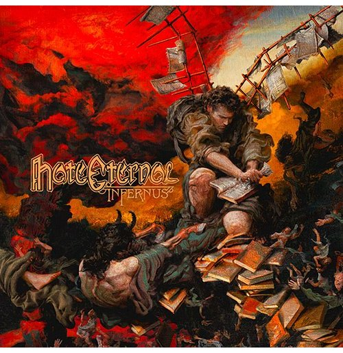 Vynil Hate Eternal - Infernus