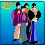 Beatles Magnet 182264