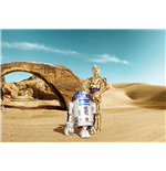Star Wars Wallpaper Lost Droids 368 x 254 cm