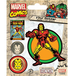 Marvel Comics Vinyl Sticker Pack Iron Man(10)