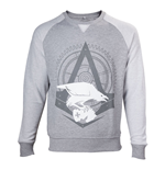 ASSASSIN'S CREED Syndicate Adult Male The Rooks Crew Neck Sweater, Large, Grey