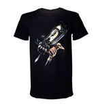 ASSASSIN'S CREED IV Black Flag Adult Male Hidden Blade T-Shirt, Extra Large, Black