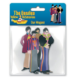 Beatles Rubber Magnet - Yellow Submarine Band