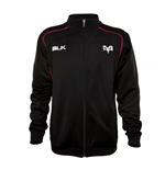 2015-2016 Ospreys BLK Rugby Travel Jacket (Black)