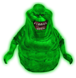 Ghostbusters Bust Bank Glow-In-The-Dark Slimer 20 cm