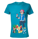 Pokemon T-Shirt Ash Ketchum