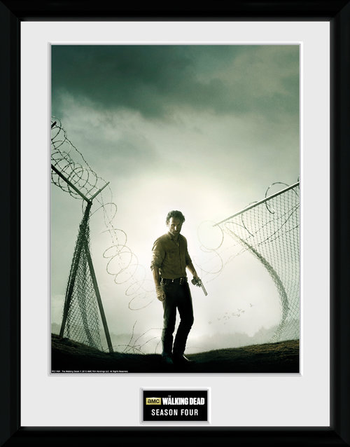 The Walking Dead Season 4 Framed Collector Print