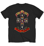 Guns N' Roses Men's Tee: Appetite for Destruction
