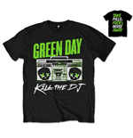 Green Day Men's Back Print Tee: Kill the DJ