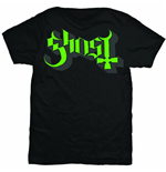Ghost Men's Tee: Green/Grey Keyline Logo
