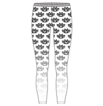 Five Finger Death Punch Fashion Leggings: Knuckleduster