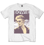 David Bowie Men's Tee: Smoking