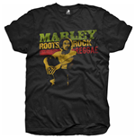 Bob Marley Youth's Tee: Roots, Rock, Reggae