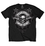 Avenged Sevenfold Men's Tee: Stars Flourish