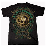 Alice Cooper Men's Tee: Billion Dollar Baby Crest