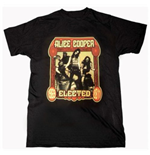 Alice Cooper Men's Tee: Elected Band